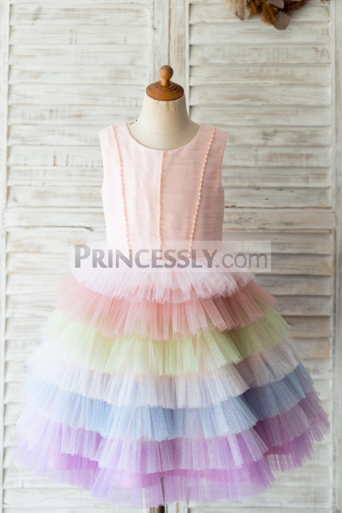 Princessly.com-K1004124-Glittering Tulle Cupcake V Back Wedding Flower Girl Dress-31
