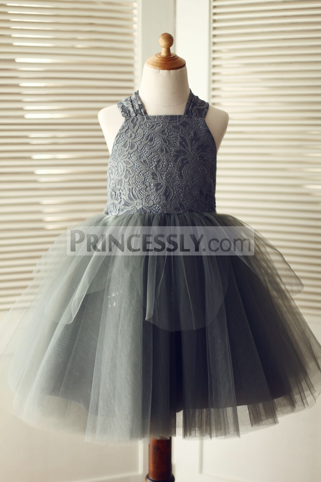 Princessly.com-K1003319-Backless Gray Lace Tulle Flower Girl Dress with Big Bow-31
