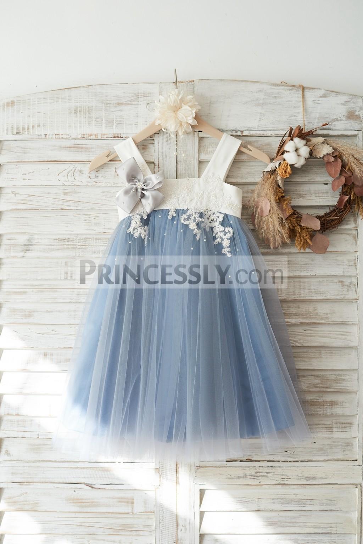 Princessly.com-K1003721-Dusty Blue Tulle Beaded Lace Wedding Flower Girl Dress-31