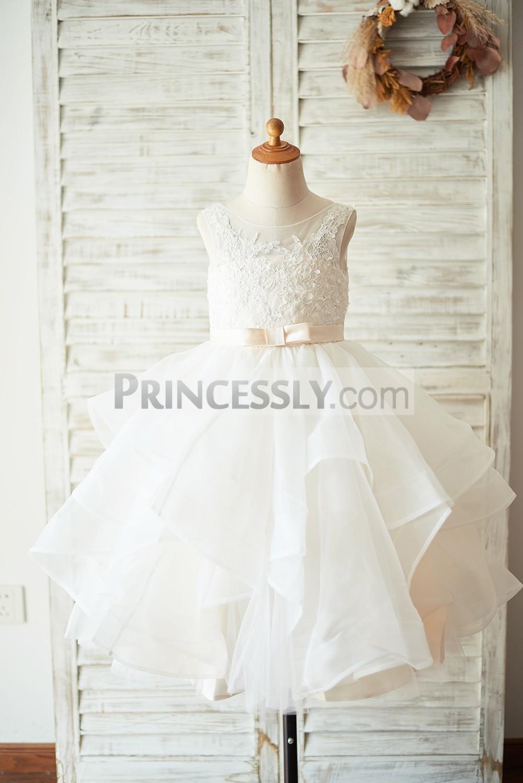 Princessly.com-K1003927-Ivory Lace Tulle Champagne Lining V Back Wedding Flower Girl Dress-31