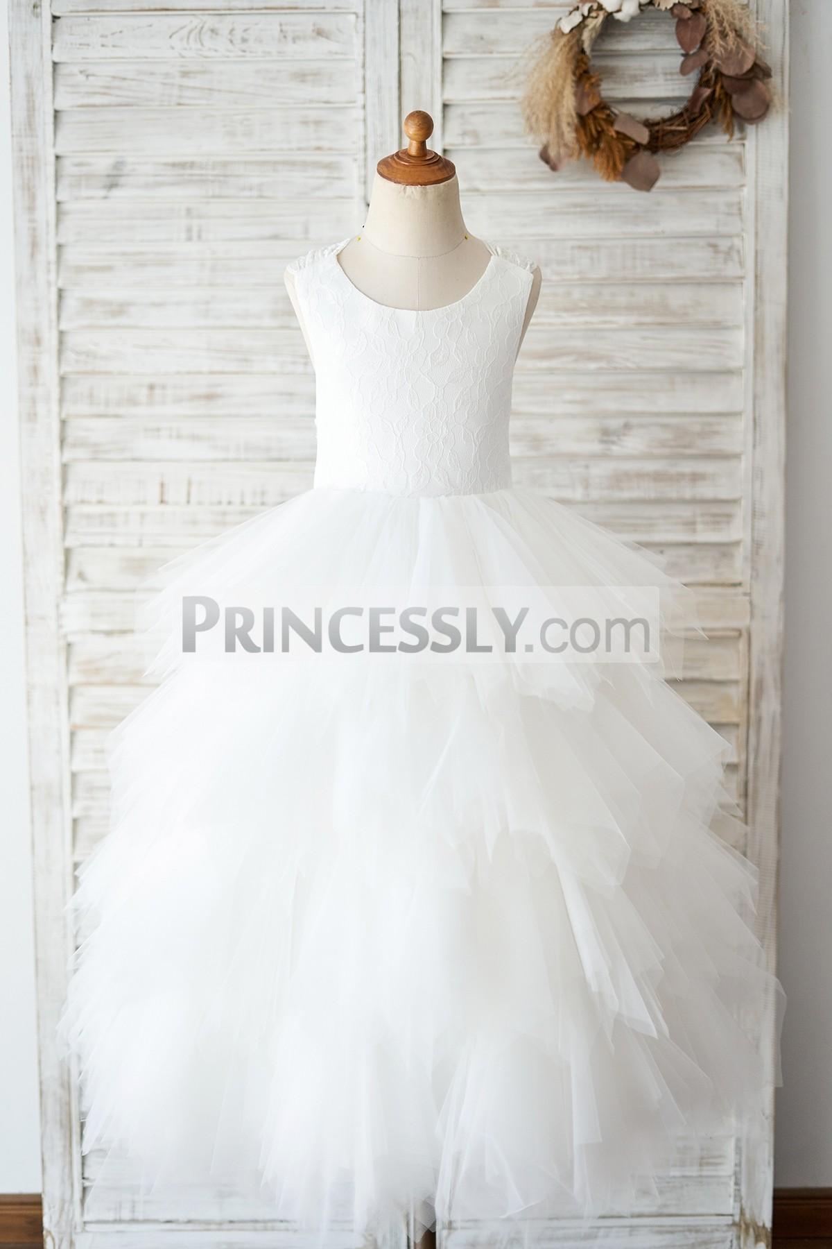 Princessly.com-K1004032-Backless Ivory Lace Ruffle Tulle Wedding Flower Girl Dress-31