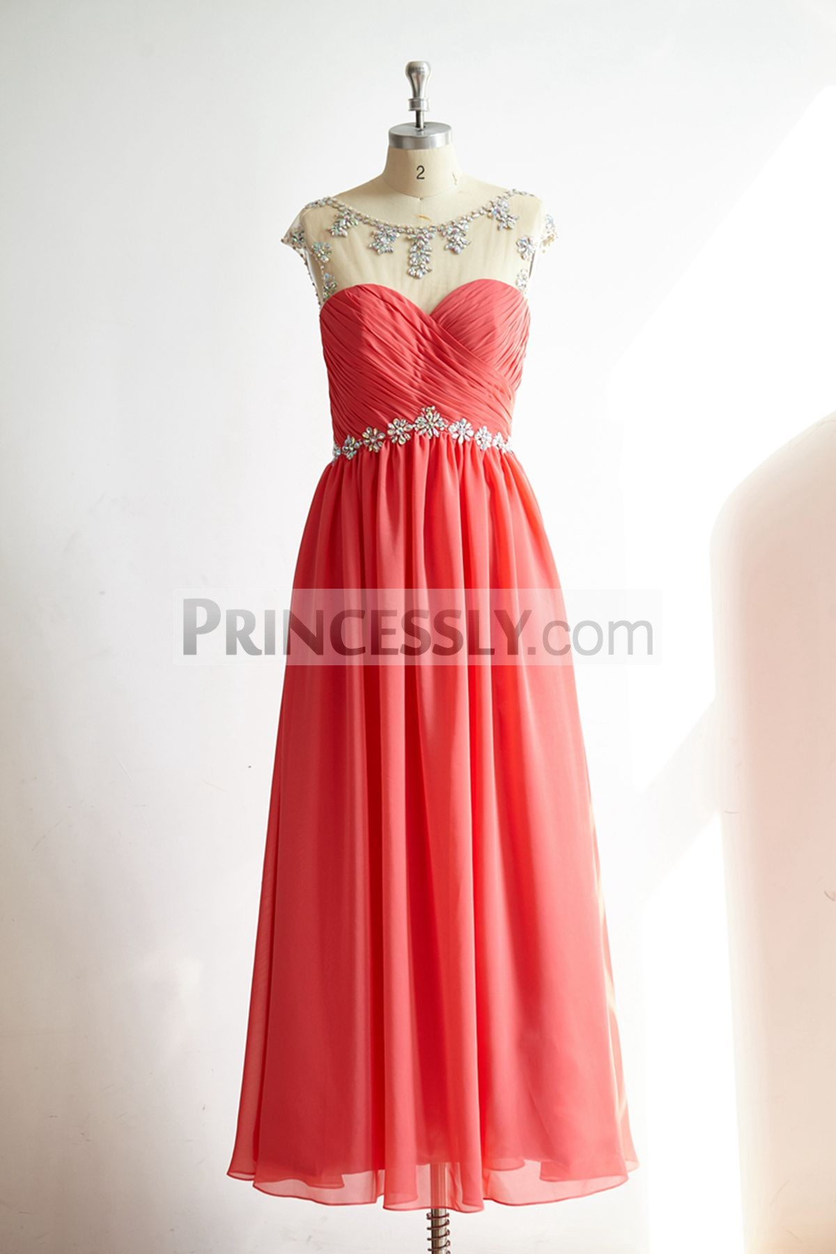 Princessly.com-K1000318-Sheer Illusion Sexy Backless Coral Chiffon Long Prom Party Dress-31