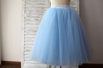 Princessly.com-K1000284-Blue Tulle Petticoat Underskirt Crinoline TUTU Skirt-20