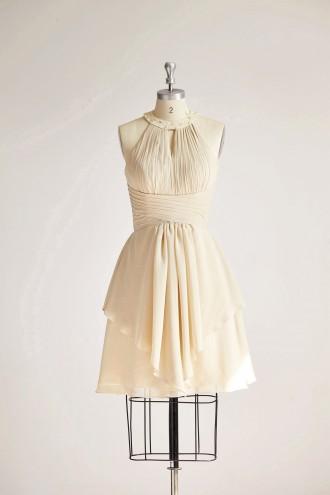 Princessly.com-K1000316-Halter Neck Champagne Beaded Chiffon Short Wedding Bridesmaid Dress-20