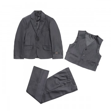 Princessly.com-K1003863-3 PCS Gray Boys Formal Occasion Suit-20