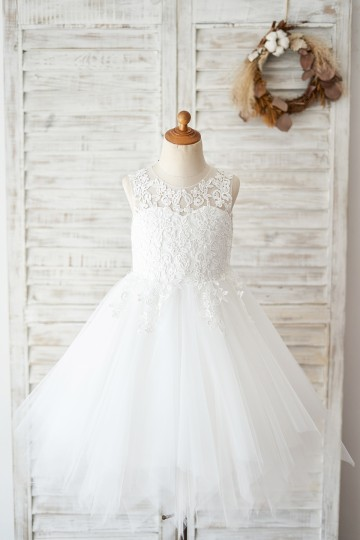 Princessly.com-K1004028-Sheer Back Ivory Lace Tulle Wedding Flower Girl Dress-20