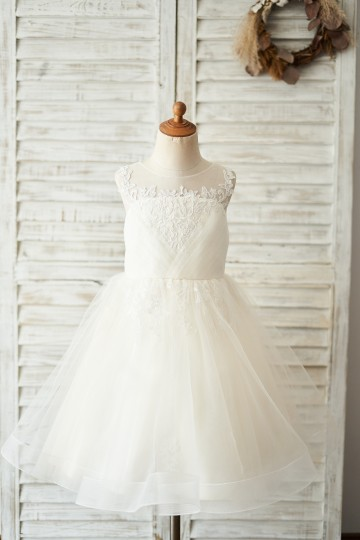 Princessly.com-K1004046-Champagne Lace Tulle Keyhole Back Wedding Flower Girl Dress-20