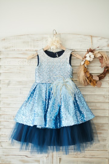 Princessly.com-K1003840-Ombre Sequin Navy Blue Tulle Wedding Flower Girl Dress-20