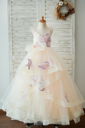 Princessly.com-K1003923-Champagne Tulle Spaghetti Straps Pearls Wedding Flower Girl Dress with Embroidery Lace-20