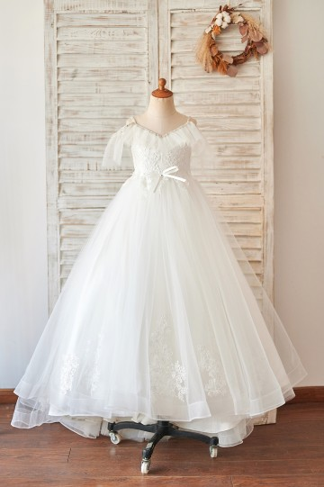 Princessly.com-K1004066-Off Shoulder Ivory Lace Tulle Ball Gown Wedding Flower Girl Dress-20
