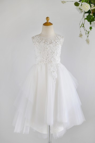 Princessly.com-K1003983-Ivory Lace Sequin Tulle Hi-low Wedding Flower Girl Dress-20
