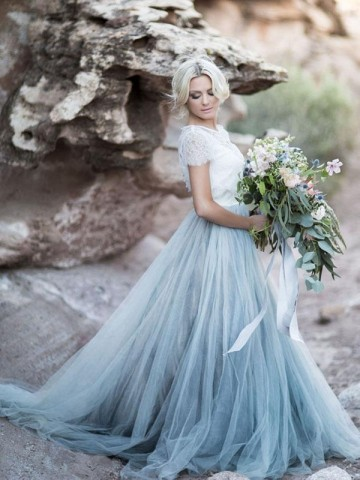 Princessly.com-K1004117-Ivory Lace Dusty Blue Tulle Short Sleeves Wedding Party Dress-20