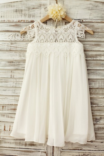 Princessly.com-K1003221-Boho Beach Lace Cap Sleeves Ivory Chiffon Flower Girl Dress-20