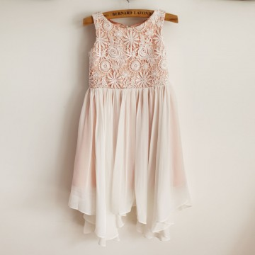 Princessly.com-K1003960-Boho Beach Lace Chiffon Wedding Flower Girl Dress-20