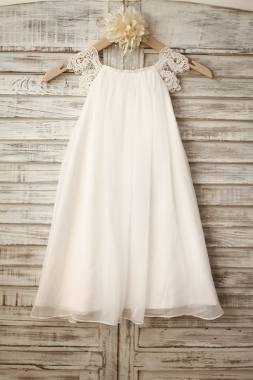 Princessly.com-K1003222-Lace Cap Sleeves Boho Beach Ivory Chiffon Flower Girl Dress-20