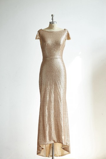 Princessly.com-K1000302-Cap Sleeves Champagne Gold Sequin Long Wedding Bridesmaid Dress/Prom Party Dress-20