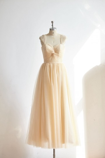 Princessly.com-K1000319-Sweetheart Champagne Tulle Pearl Cap Sleeves Long Prom Party Dress-20