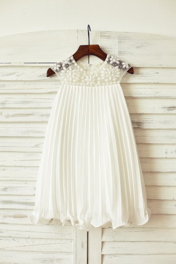 Princessly.com-K1000082-Beaded Ivory Chiffon Flower Girl Dress-20