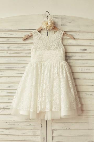 Princessly.com-K1000167-Ivory Lace Tulle Flower Girl Dress-20