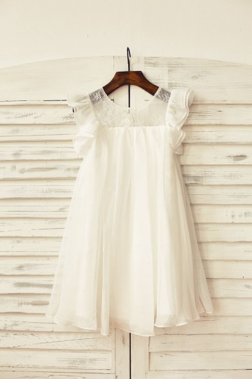 Princessly.com-K1000164-Ivory Chiffon Ruffle Cap Sleeves Flower Girl Dress-20