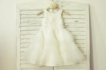 Princessly.com-K1000176-Ivory Organza Lace Appliqué Flower Girl Dress-20