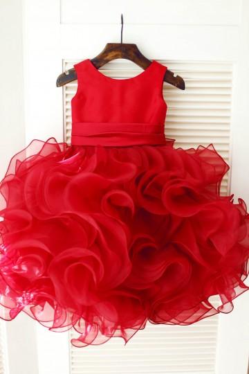 Princessly.com-K1003343-Red Satin Ruffle Organza TUTU Princess Flower Girl Dress-20