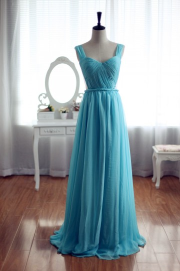 Princessly.com-K1001926-Sage Blue Chiffon Bridesmaid Dress Prom Dress-20