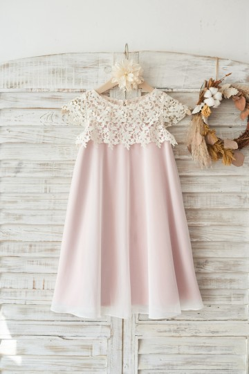 Princessly.com-K1003458-Boho Beach Lace Cap Sleeves Ivory Chiffon Wedding Flower Girl Dress with Pink Lining-20