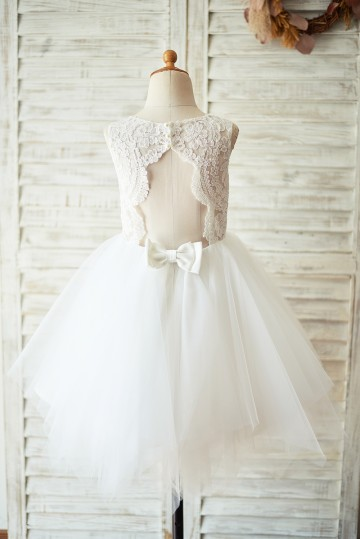 Princessly.com-K1003928-Ivory Lace Tulle Keyhole Backless Wedding Flower Girl Dress-20