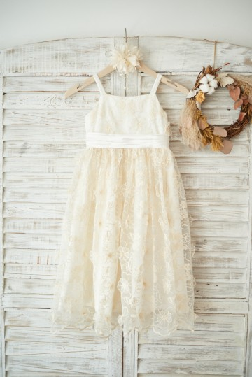 Princessly.com-K1003557-Champagne 3D lace Straps Wedding Flower Girl Dress with Bow Belt-20