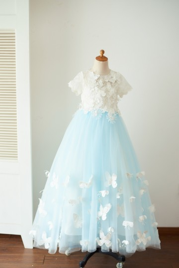 Princessly.com-K1003657-Ivory Lace Blue Tulle Short Sleeves Wedding Flower Girl Dress Full Length Party Dress with Butterfly-20