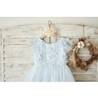 Princessly.com-K1004050-Blue Lace Tulle Cap Sleeves V Back Wedding Flower Girl Dress with Feathers-01