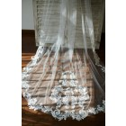 Princessly.com-K1003860-Cathedral Long Tulle Lace Appliques Wedding Veil Bridal Veil-01