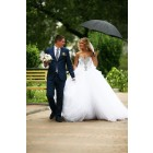 Princessly.com-K1004119 Ball Gown Ivory Tulle Strapless Wedding Party Dress-02