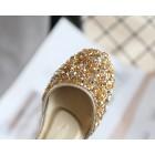 Princessly.com-K1004021-Gold/Silver Sequin Pearls Wedding Flower Girl Shoes Princess Shoes-01