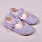 Princessly.com-K1003946-Black/Green/Lavender Leather Sequin Pearl Flat Princess Shoes Wedding Flower Girl Shoes-01