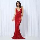 Princessly.com-K1003898-Sequin V Neck Backless Long Dress Party Evening Dress NAVY/SILVER/PINK/BLACK/RED/Champagne LM80119-01