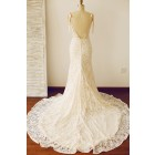 Princessly.com-K1000228-Sexy Backless Mermaid Lace Wedding Dress with Chapel Train-01