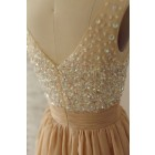 Princessly.com-K1000233-Sheer See Through Deep V Champagne Chiffon Beaded Prom Dress-01