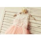 Princessly.com-K1000104-Princess Ivory Lace Blush Pink Tulle Flower Girl Dress-01