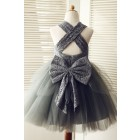 Princessly.com-K1003319-Backless Gray Lace Tulle Flower Girl Dress with Big Bow-01