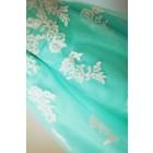 Princessly.com-K1000232-Strapless Sweetheart Mint Blue Tulle Lace Tea Length Short Wedding Dress-01