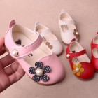 Princessly.com-K1003952-Ivory/Red/Pink Leather Pearls Baby Wedding Flower Girl Shoes Princess Shoes-01