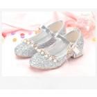 Princessly.com-K1004018-Gold/Silver Sequin Rhinestone Wedding Flower Girl Shoes High Heels Princess Dancing Shoes-02
