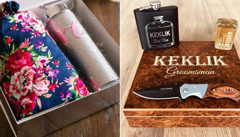 Cool Gifts Your Wedding Party Will Love